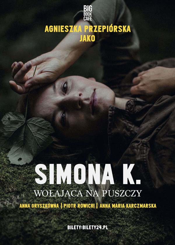 Spektakl o Simonie Kossak w Big Book Cafe